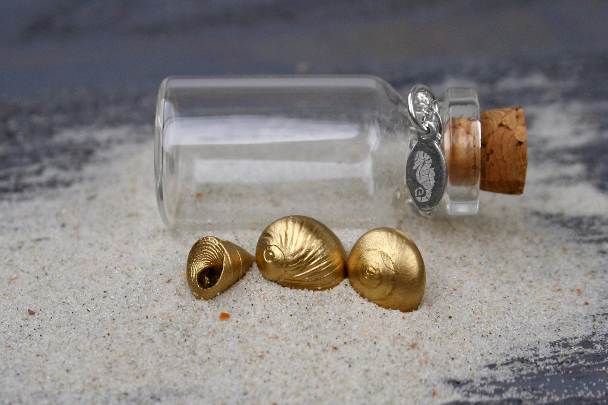 Tiny Gold Shells